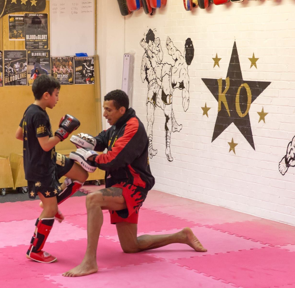 Kids training sessions and fitness with Personal Combat Training, Bristol.