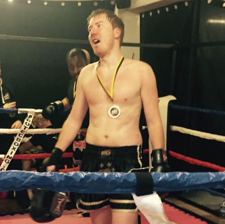 Matt Webster trained in Muay Thai and Kickboxing with Personal Combat Training Bristol