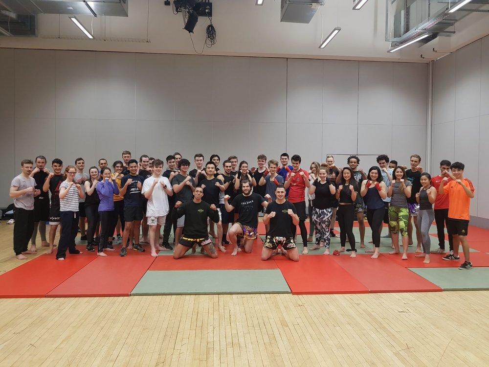 Personal Combat Training offers Muay Thai and kickboxing training at University of Bristol Muay Thai society