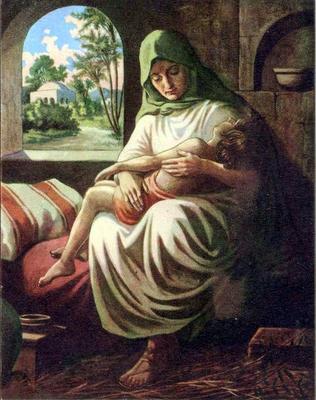 Shunammite woman  Image by Airyelf