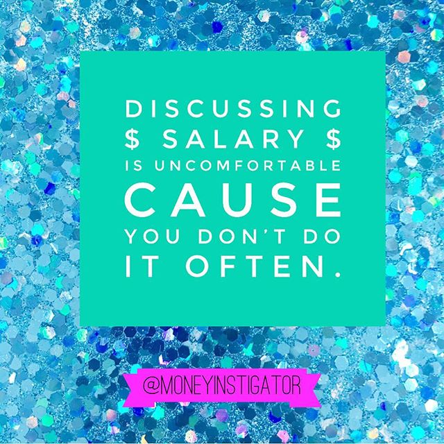 Again and again I remind people that asking for a carefully researched salary number won't make an offer vanish. Make your case and ask! 💕 • • • • • #talkmoney #askformore #salary #influencer #financialfeminist #disruptmoney #negotiation #salarynegotiation #empowerment #womensempowerment #girlpower #girlboss #gogirl #whips #strongwomen #gogirl #yes #morewomen #staywoke #instagood #feminine #feminist #sparkle #femaleleader