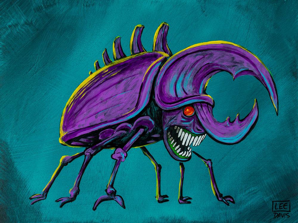 Cryptococcus Rhino Beetle