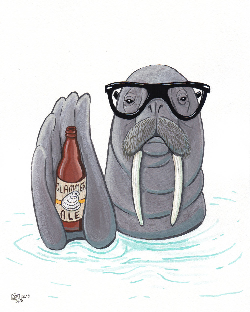 Hipster Walrus