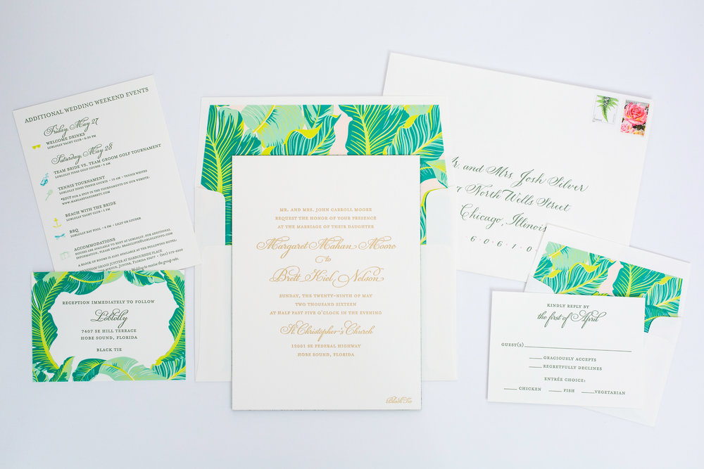 magnificent milestones | wedding invitations | modern collection