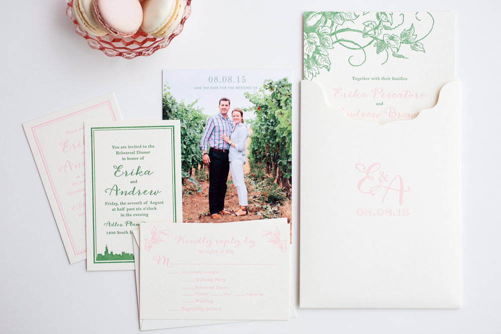 magnificent milestones | wedding invitations | whimsical collection