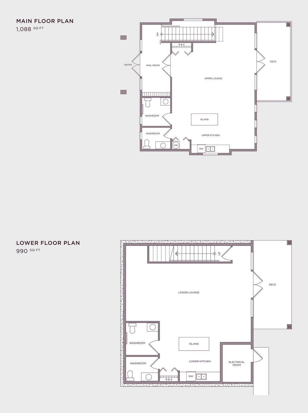 Imperial Townhome's Amenity Building - The Drawing Room
