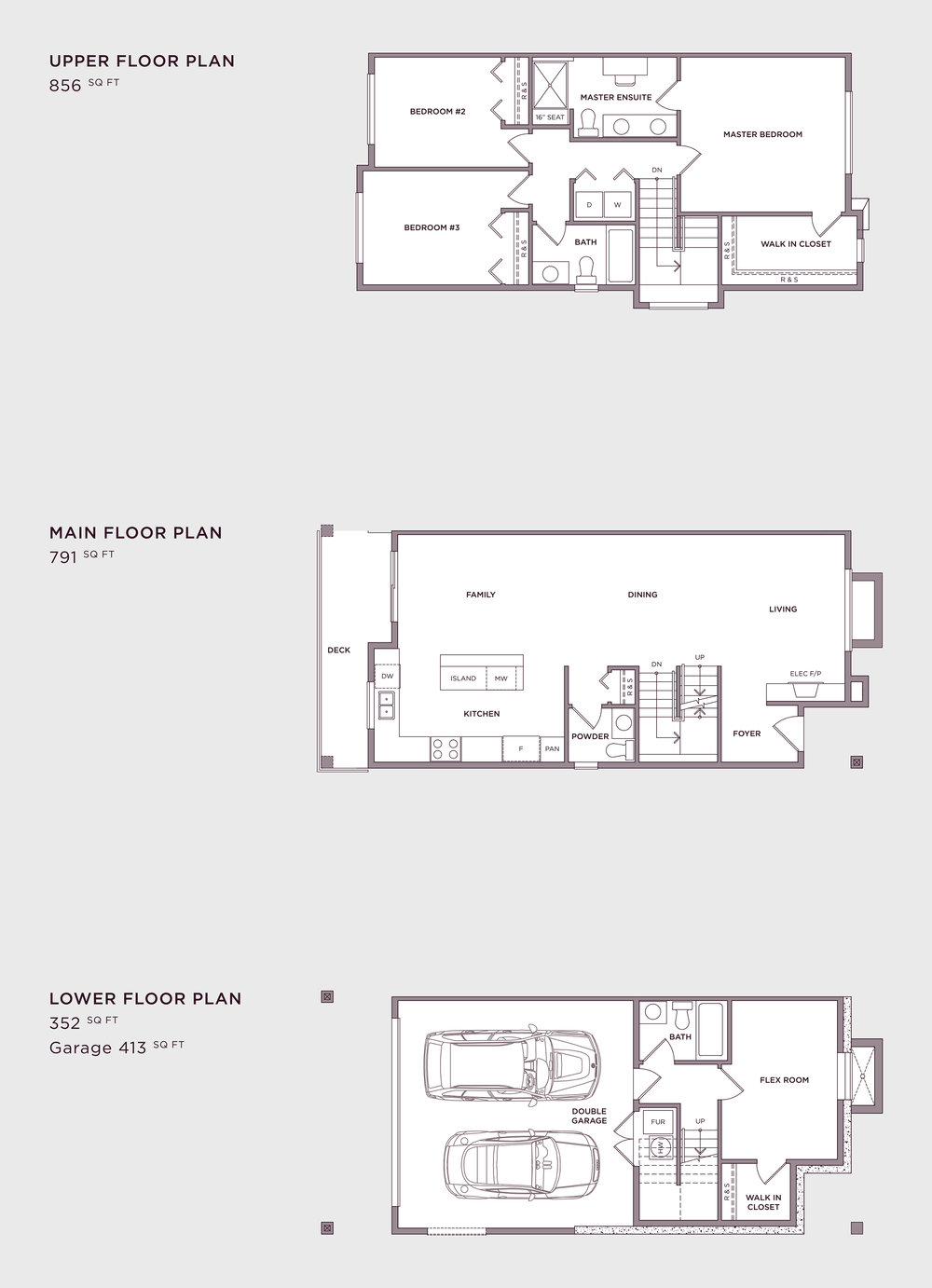 Plan A4a Imperial Townhome
