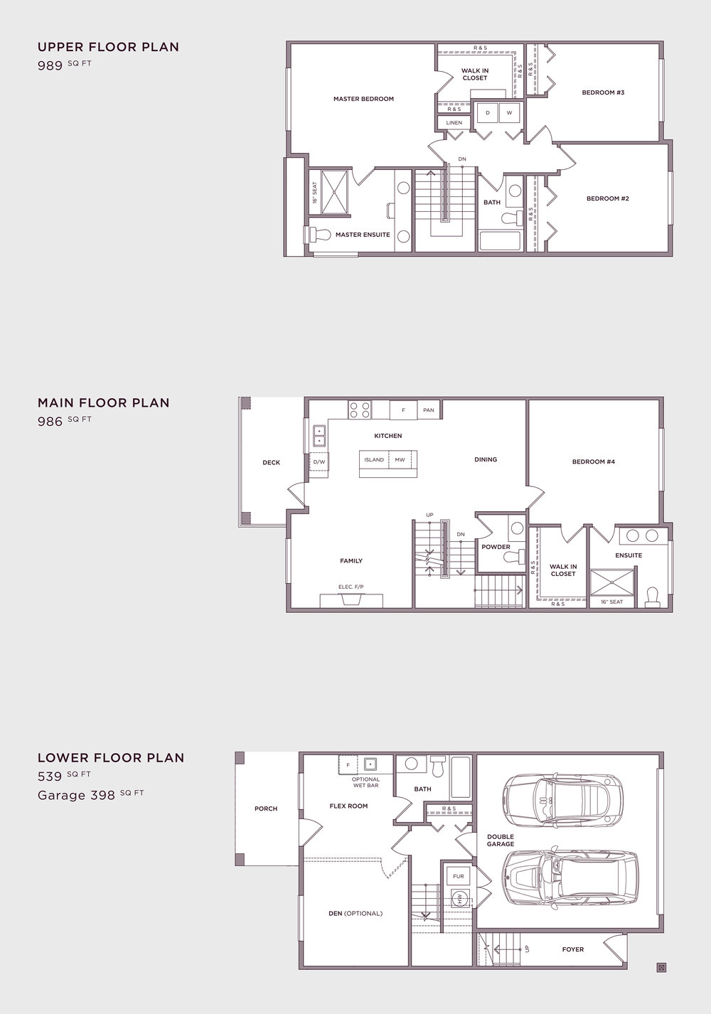 Plan B1 Alt Imperial Townhome