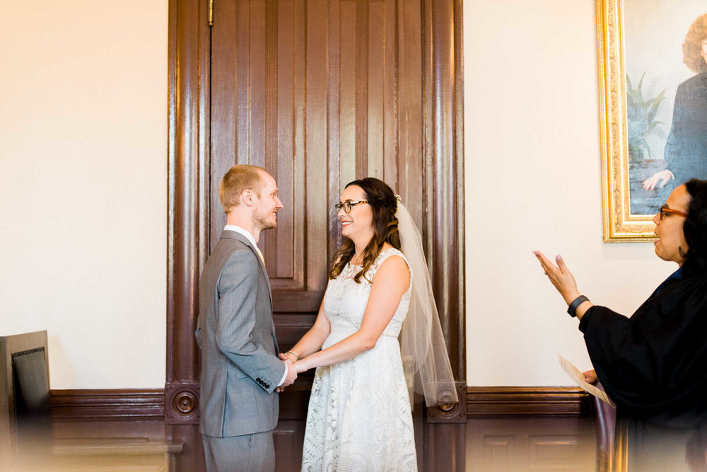 Getting Married at Algiers Courthouse