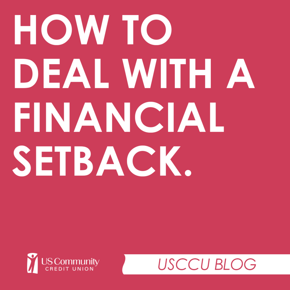 How to deal with a financial setback