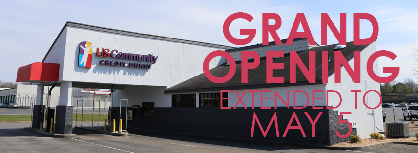 Grand Opening Extended to May 5