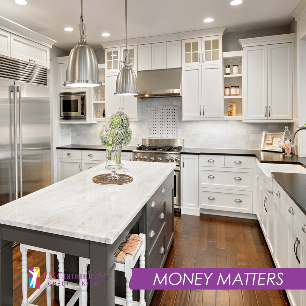 Image of a newly remodeled kitchen.