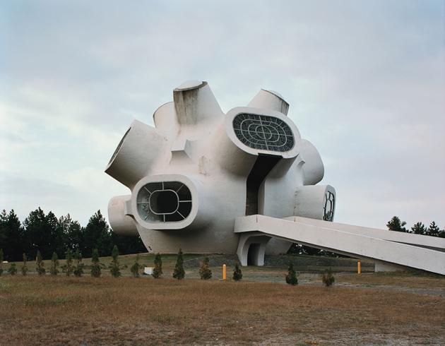 Ilinden Monument, by Jordan Grabulovski in Krusevo, FYR Macedonia