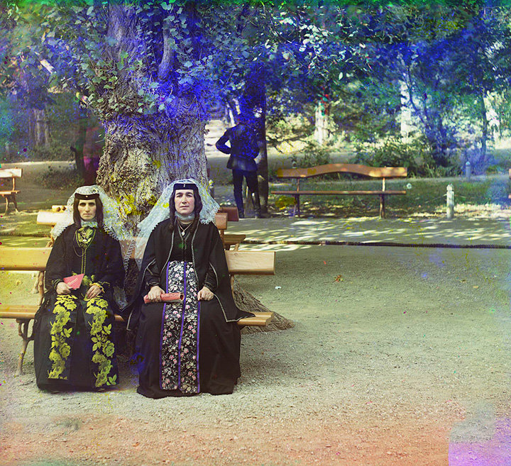 Armenian women in holiday attire. Artvin. 1905-1915.