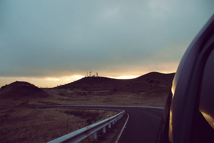 Slow climb to Mauna Kea