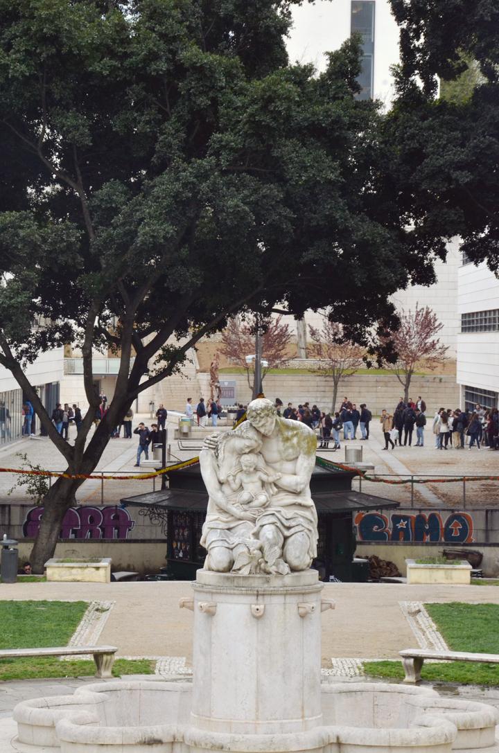 Jardim De Lisboa Antiga