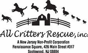 All Critters Rescue is based in New Jersey and we are a non-profit, all volunteer, no-kill animal rescue organization. Our mission is to rescue, rehabilitate and re-home domestic pets and farm animals. https://www.facebook.com/allcrittersrescue/ Email: allcrittersrescue@yahoo.com 426 Main Street #317 Spotswood, NJ 08884