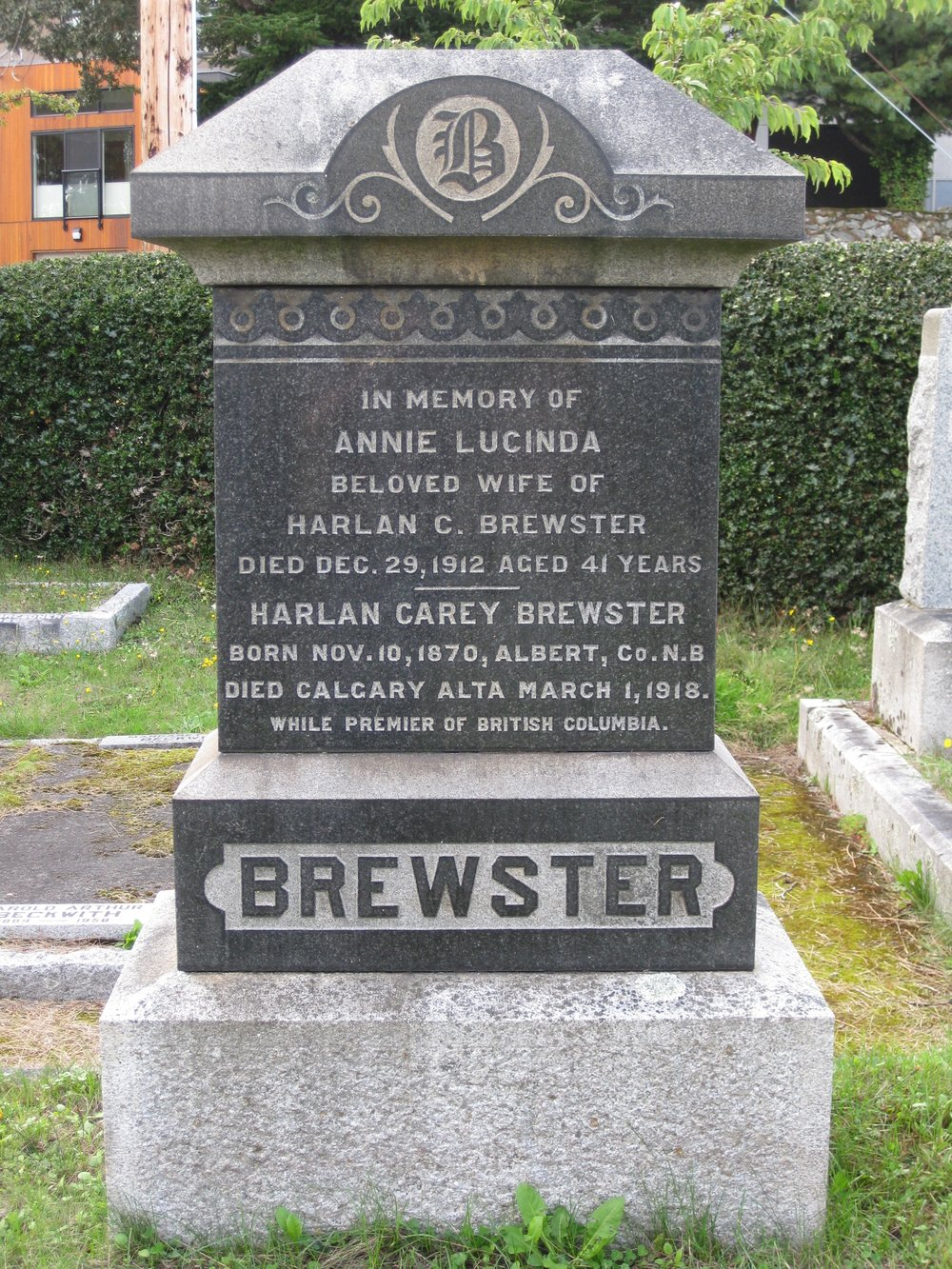 Harlan Carey Brewster