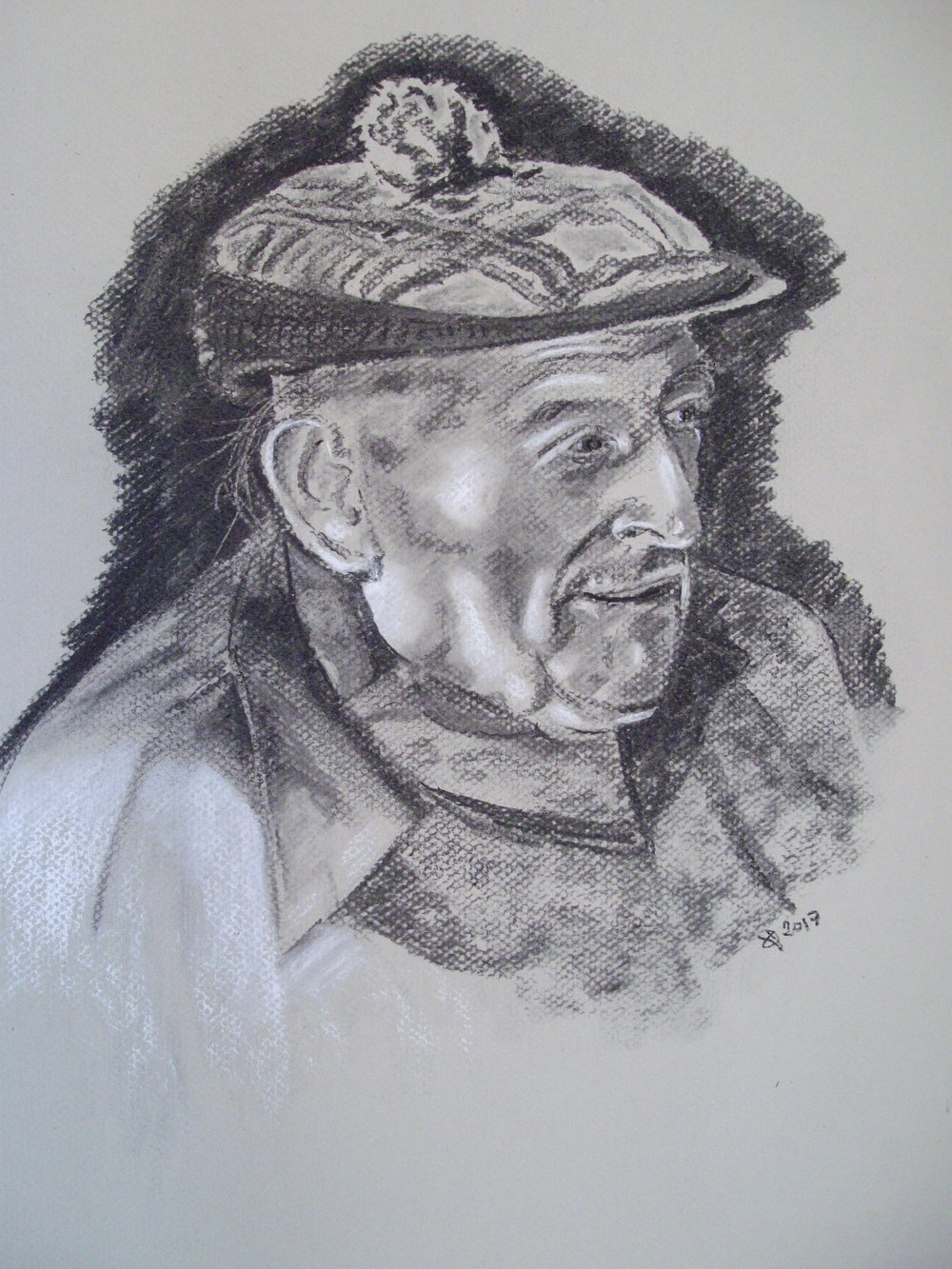 Image of Art Davies drawn by Quentin Verhaegen