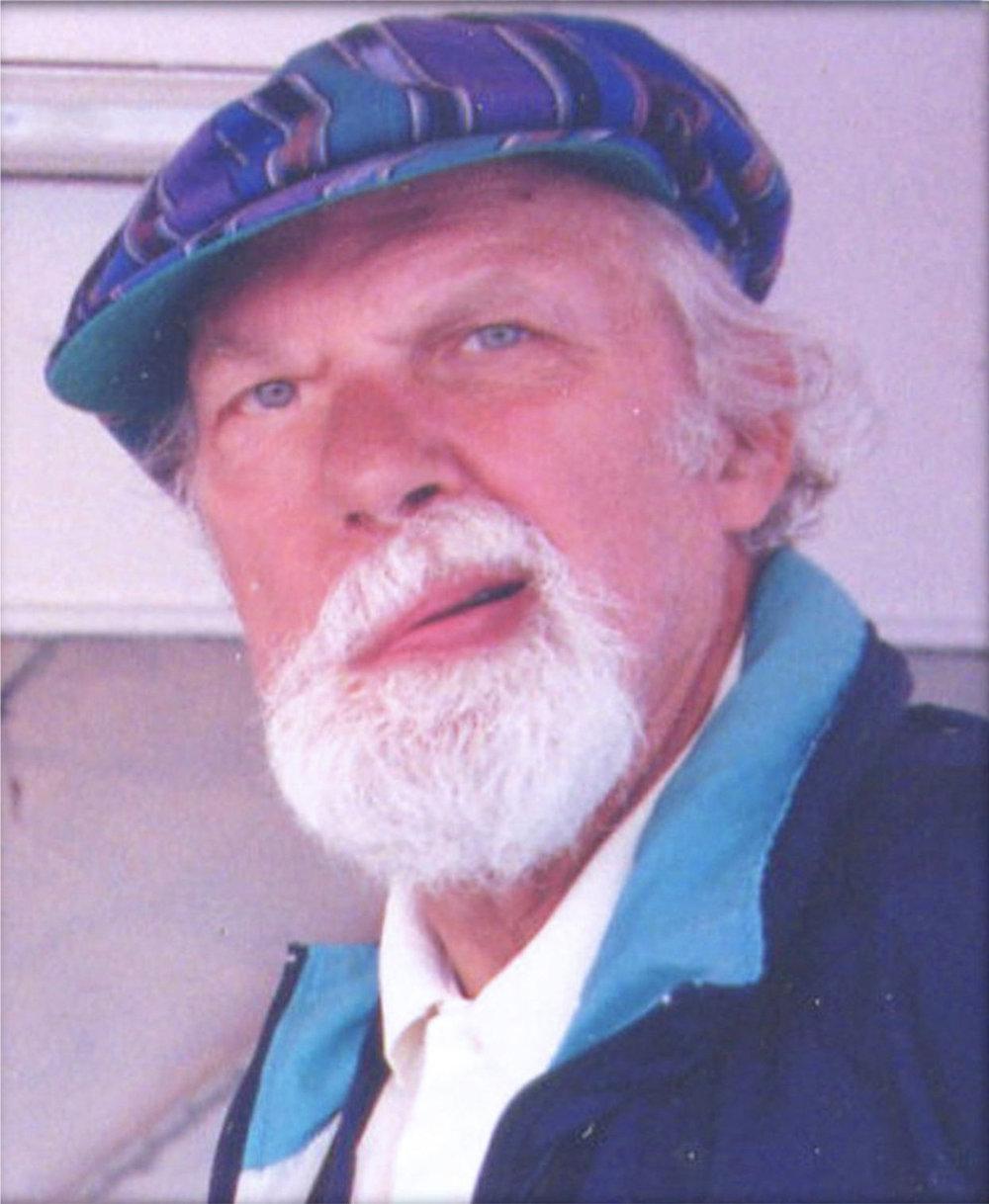 James Bay resident and author Henri van Bentum.