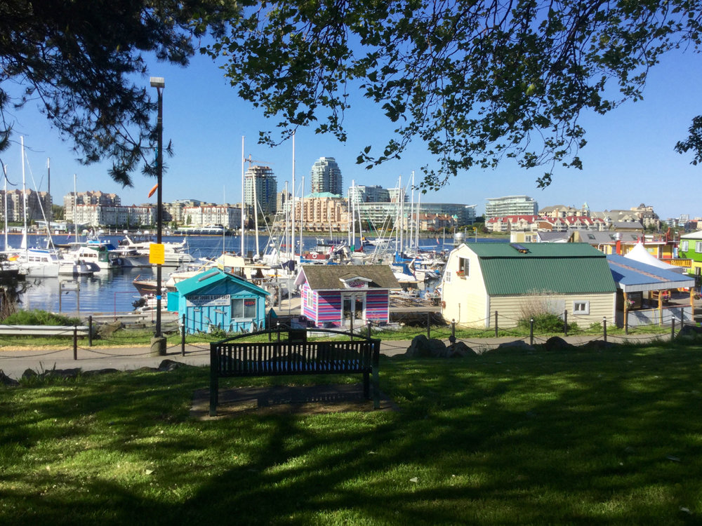 At Fisherman's Wharf Park children can enjoy the creative play area, or your family can enjoy a picnic with this view.