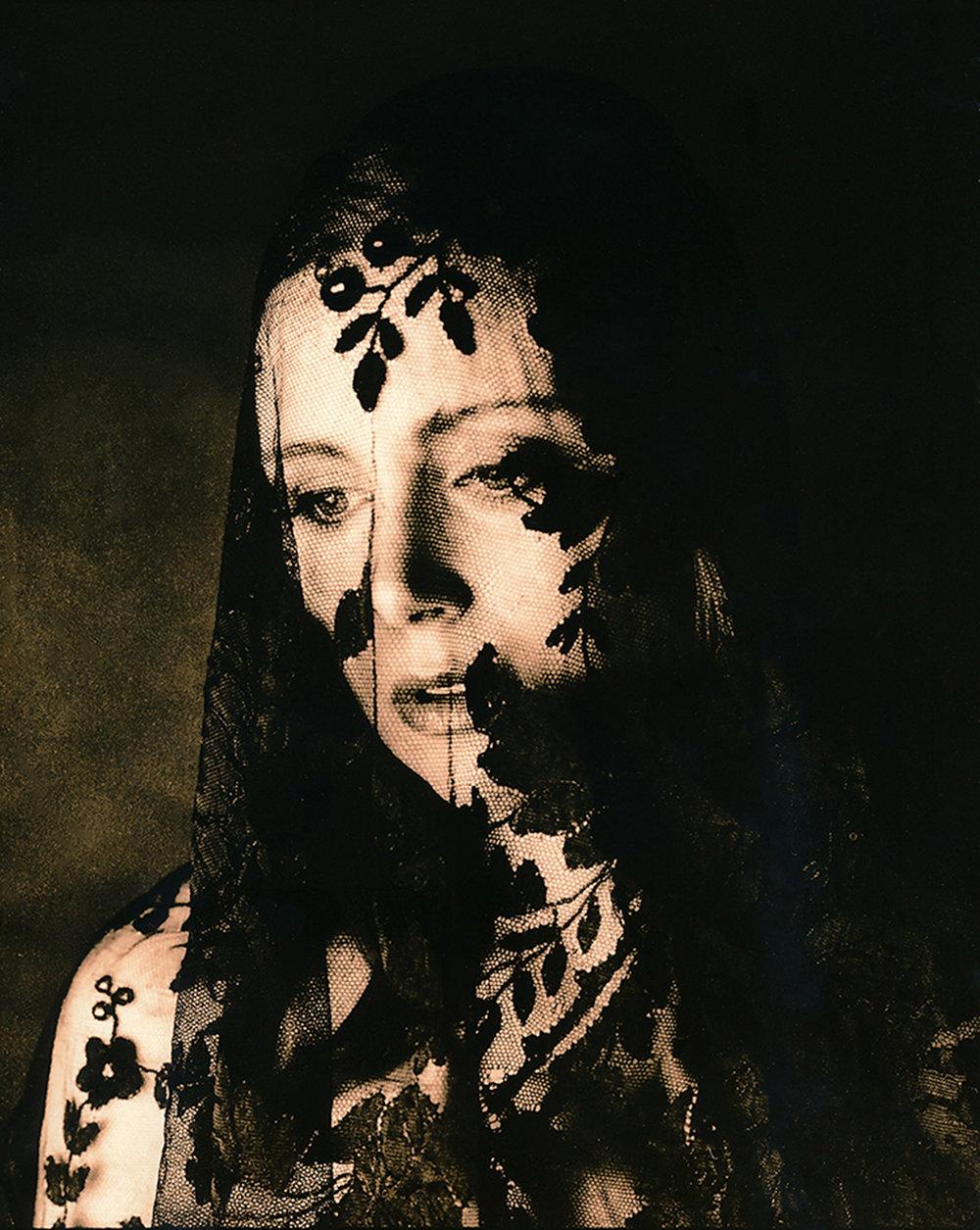 """""""The Widow"""" - Lithprint"""