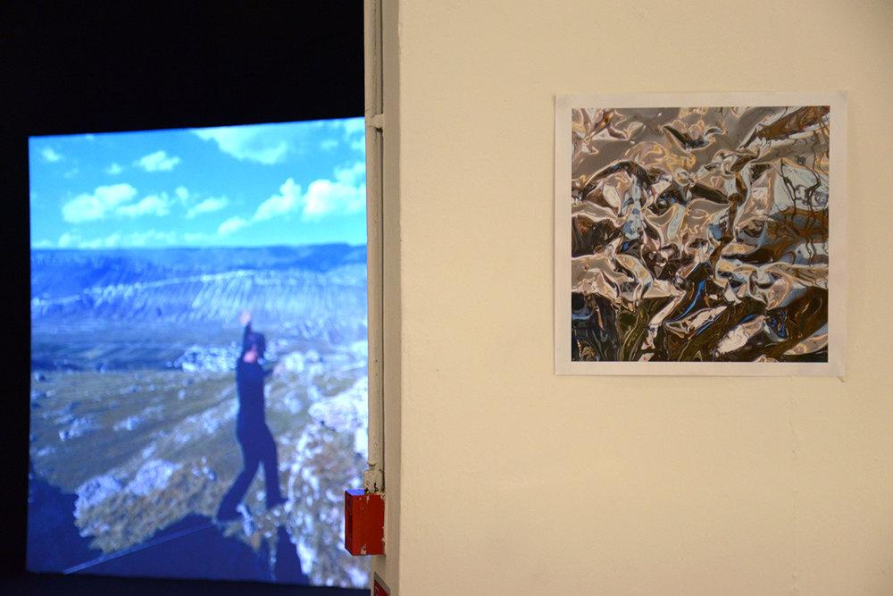 特别项目展览铁心的图片作品《曲水流觞之四》, 绿原城堡