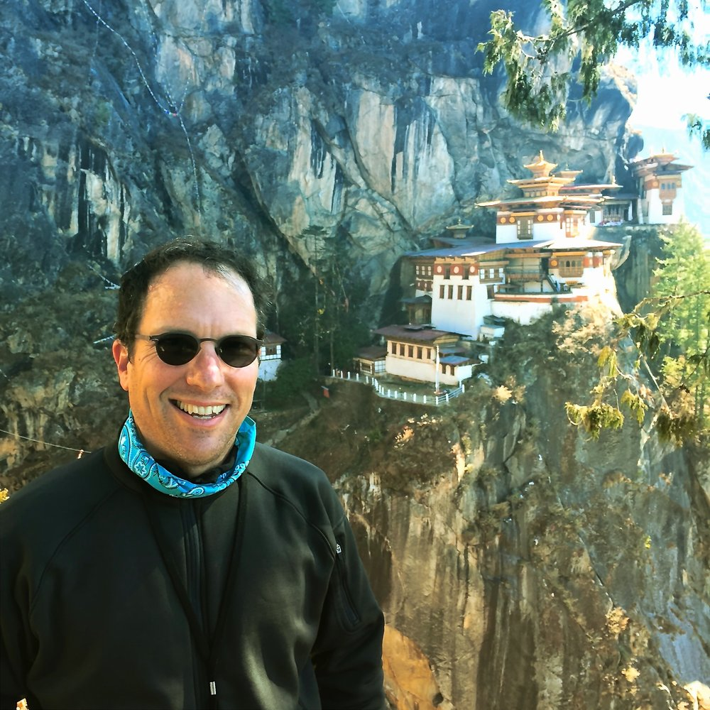 David Hochman in Bhutan