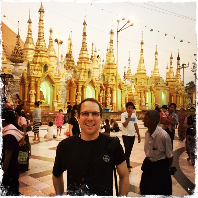 David Hochman in Myanmar