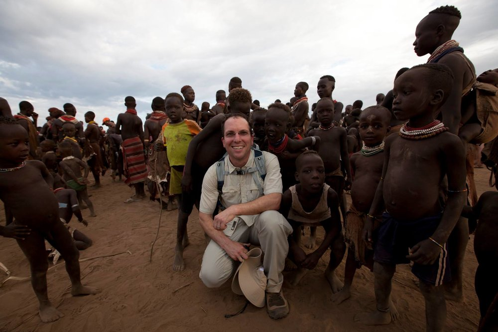 David Hochman in Omo Valley