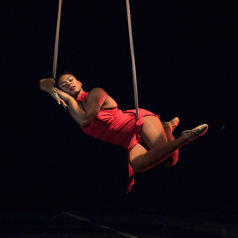 Aerial Straps —  Veronica Blair