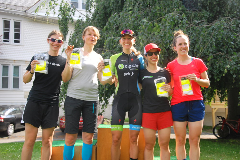 Women's Team Leaders - Green Line Velo driven by Zipcar  Darcey Moore Photo