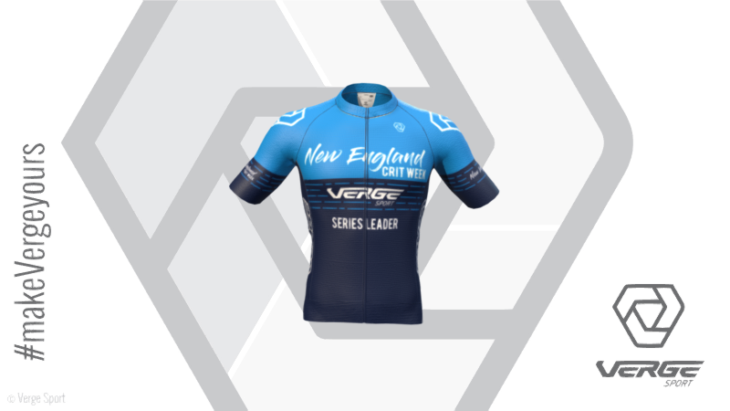 VERGE Sport New England Crit Week leader's jersey