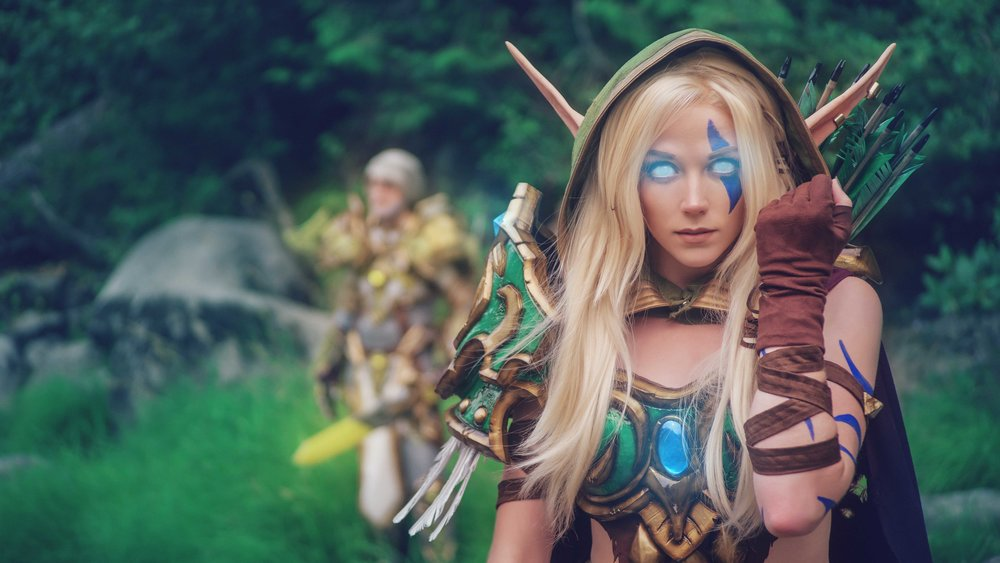 Warcraft's Alleria & Turalyon COME TO LIFE - Making Of