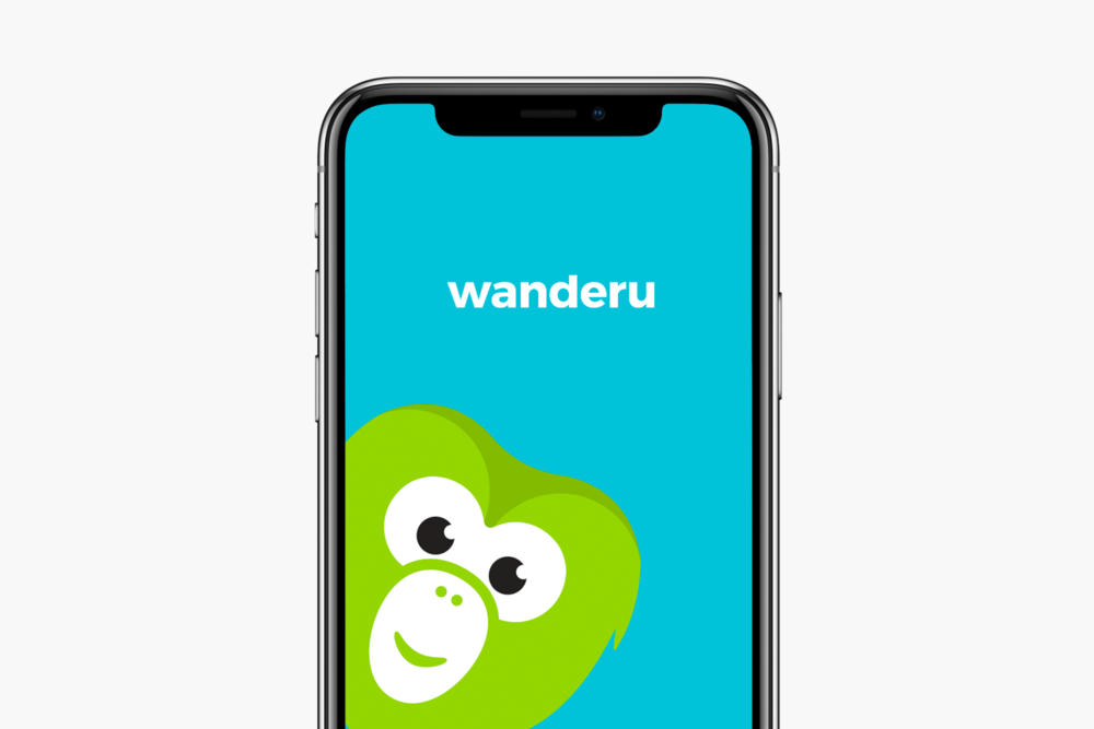 Wanderu app design for iOS