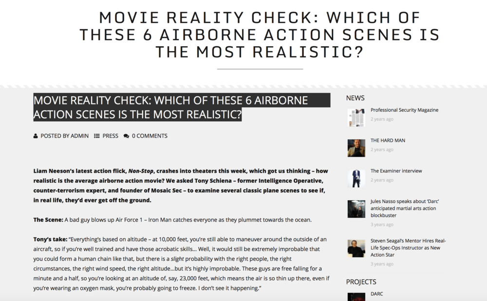 MOVIE REALITY CHECK: WHICH OF THESE 6 AIRBORNE ACTION SCENES IS THE MOST REALISTIC?