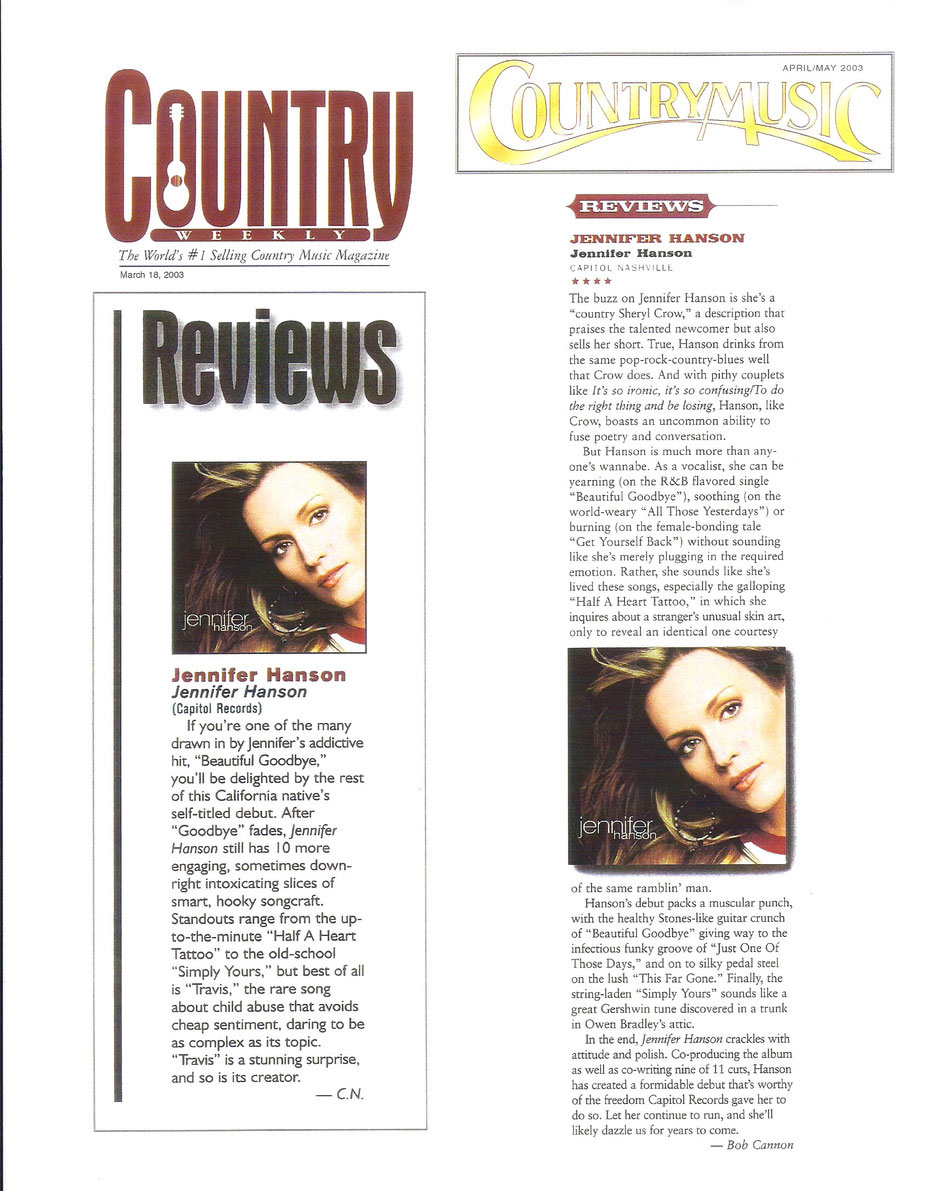 Country Weekly & Country Music Magazine