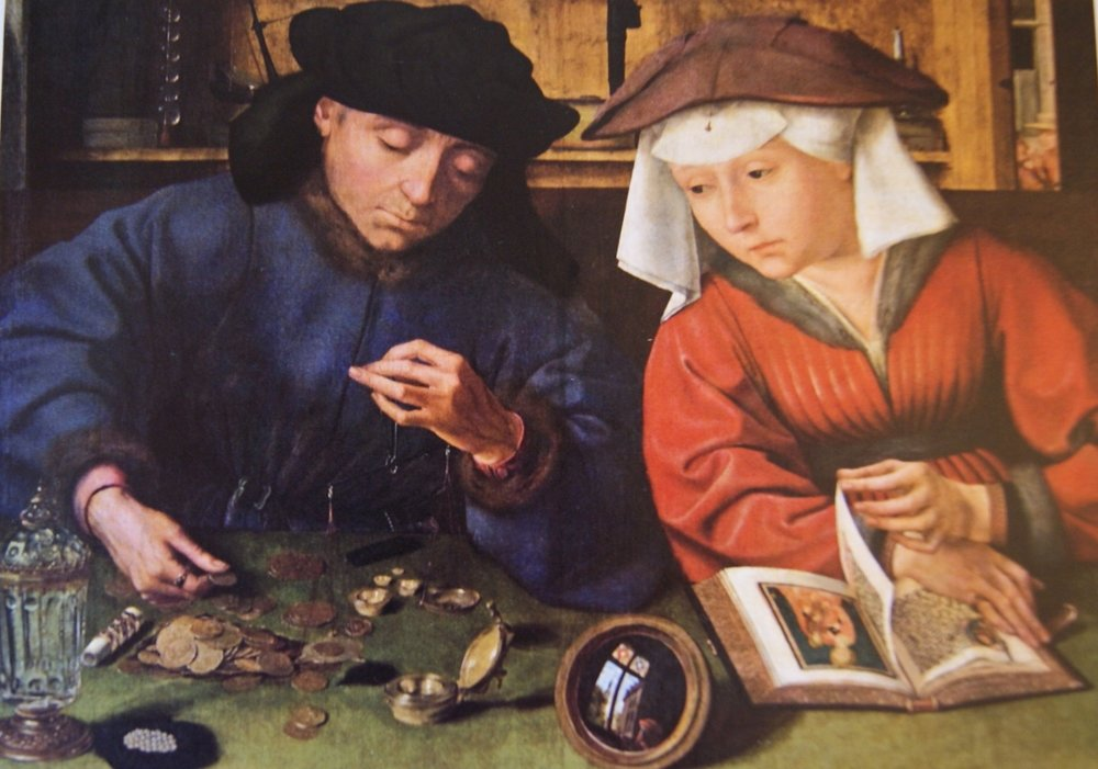 Wentworth jigsaw: The Moneychanger and his wife