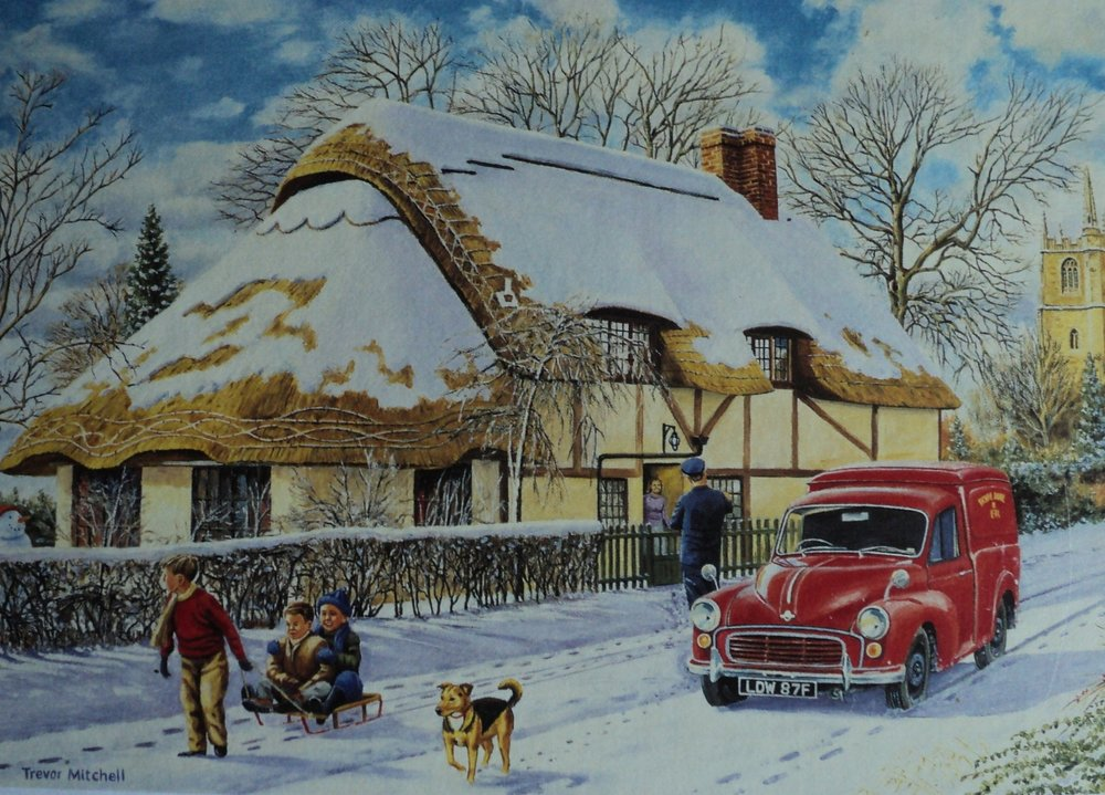 Wentworth jigsaw: Delivering a Christmas Parcel