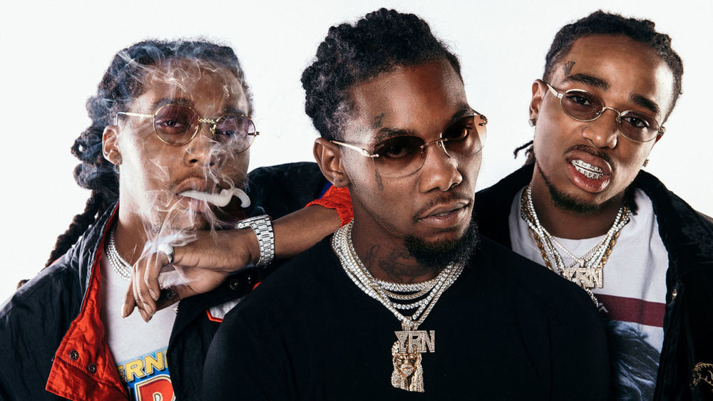 Esquire   HOW MIGOS INSPIRED EVERYONE FROM HILLARY CLINTON TO DONALD GLOVER   With dabs and drop tops, the Atlanta trio is already the most talked about rap group of 2017. Profile of the rap group for  Esquire