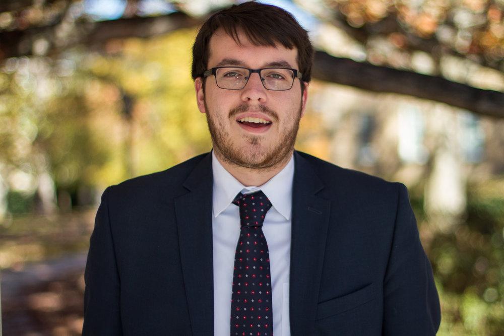 Tyler Henkel, Head Delegate