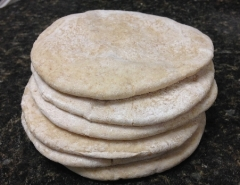 Pita Bread &Wraps - Wheat or Spelt