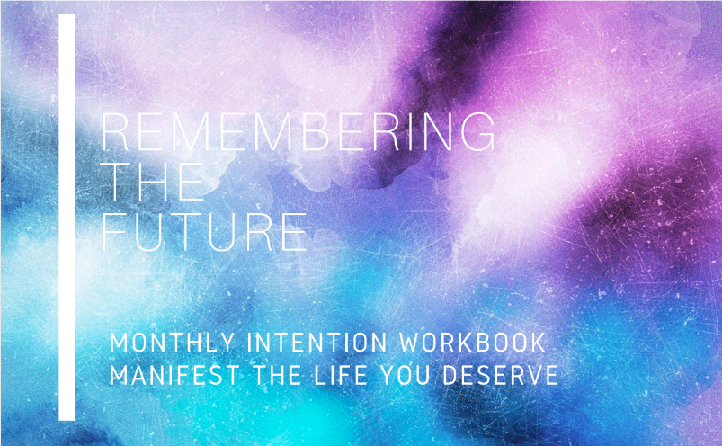 Your Free Monthly Intention Guidebook - Begin this month in an EPIC way by stepping outside of your comfort zone, and inside of your heart space with my free gift to you. This powerful Remembering The Future Guidebook will help you step into your fullest potential and reveal your breakthroughs as you Manifest the life that you deserve. Your fullest potential begins and ends NOW. :)