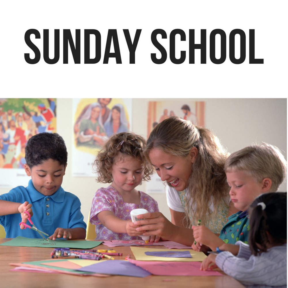 K4 - 8th grade - Students attend weekly classes in between Sunday Masses. Classes are taught by volunteer catechists.  Click here for details