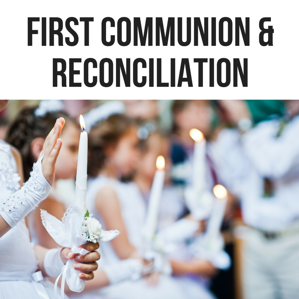 Sacramental Preparation - All students participating in Sacramental Preparation will attend additional meetings with a parent.  Click here for details.