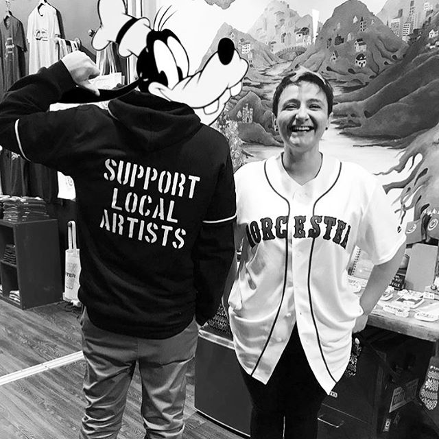 SUPPORT LOCAL ARTISTS @crocpaints @jessicacwalsh #supportlocalartists . . . . . #art #artists #support #local #localart #paint #music #artlife #culture #goofy #disney #redsox #boston #writer #creator #jersey #baseball #team