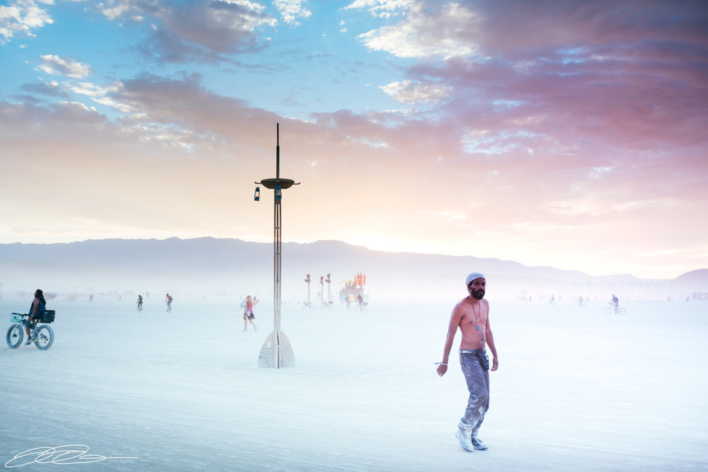 burning man haze