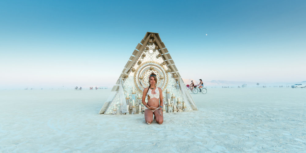Unreal images from Burning Man