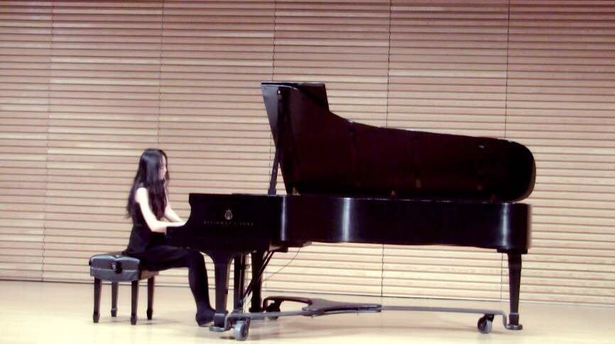 Solo Recital, University of Michigan, 2015