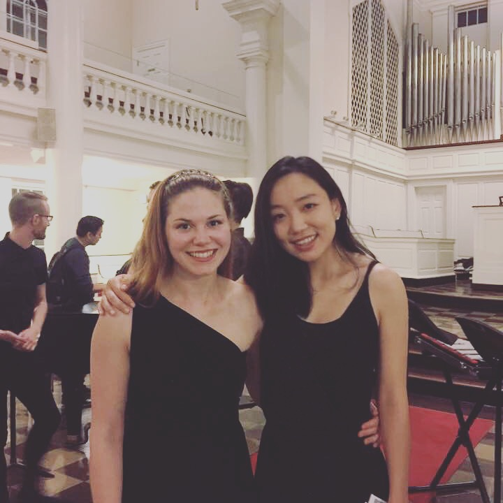 Violin Piano Duo, Atlantic Music Festival, 2017